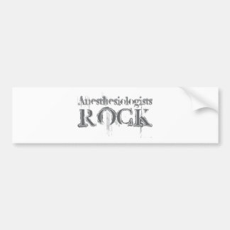 Anesthesiologists Rock Bumper Stickers