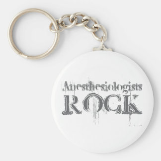 Anesthesiologists Rock Key Chain