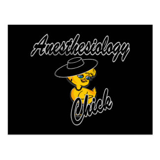 Anesthesiology Chick #4 Postcard