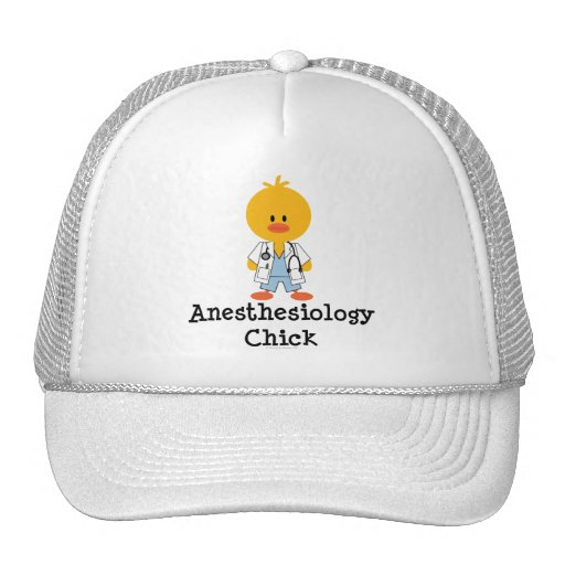 Anesthesiology Chick Hat