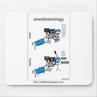 Anesthesiology Mousepad cómico Alfombrillas De Raton