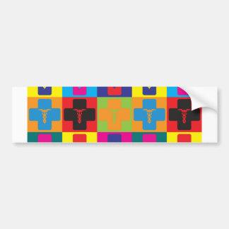 Anesthesiology Pop Art Bumper Sticker