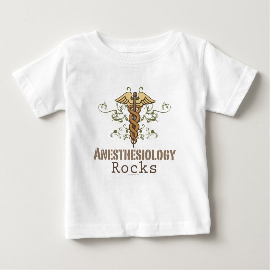 Anesthesiology Rocks Baby T shirt