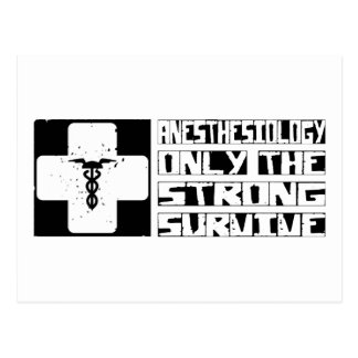 Anesthesiology Survive Postcard