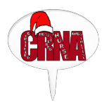 Anesthetist certificado CRNA SANTA de la enfermera Decoraciones De Tartas