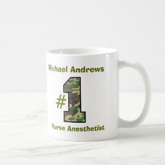 Anesthetist de la enfermera del número uno taza clásica