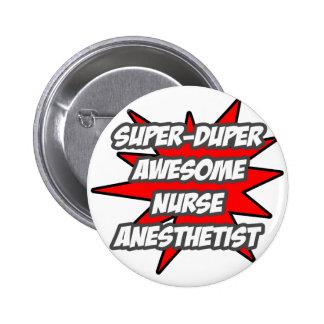 Anesthetist impresionante estupendo de la enfermer pin