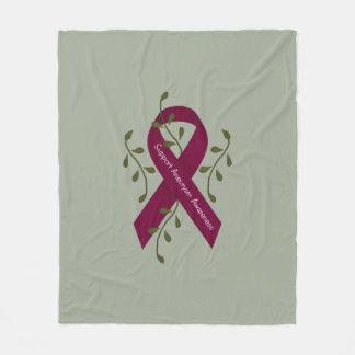 Aneurysm Awareness Fleece Blanket