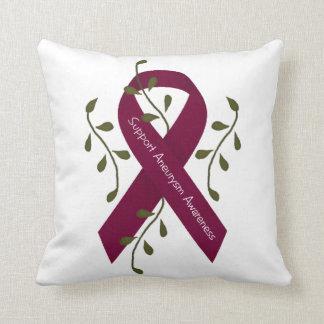 Aneurysm Awareness Throw Pillow