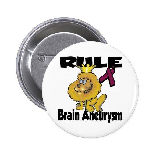 Aneurysm del cerebro de la regla pin redondo 5 cm