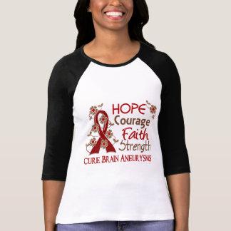 Aneurysms del cerebro de la fuerza 3 de la fe del  camisetas