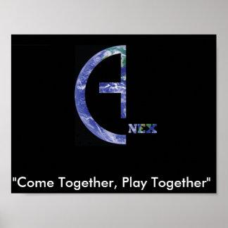 Anex Slogan Poster