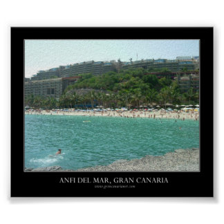 Anfi del Mar, Gran Canaria Posters