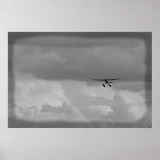 Anfibio de Cessna Póster