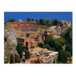 Anfiteatro 3 de Taormina Postal