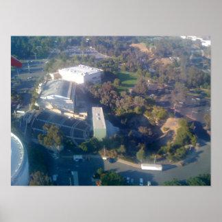 Anfiteatro al aire libre en California Póster