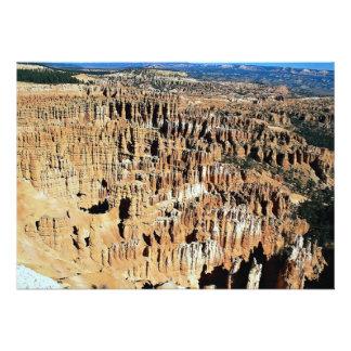 Anfiteatro de Bryce parque nacional del barranco Invitaciones Personalizada
