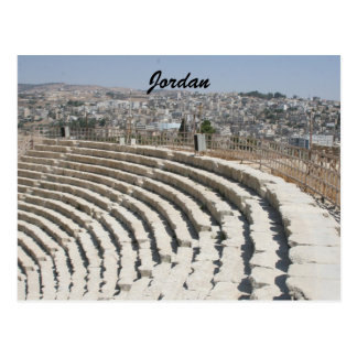 anfiteatro romano del jerash postales