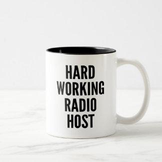 Anfitrión de radio de trabajo duro taza de dos tonos