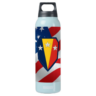 ANG 50th Infantry Brigade Combat Team Insulated Water Bottle