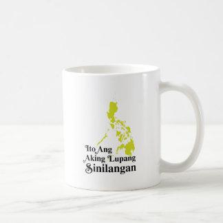 ANG Aking Lupang Sinilangan - Filipinas de Ito Taza De Café