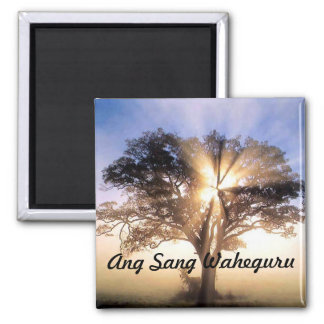 Ang Sang Waheguru magnet