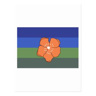 Angaur Flag Postcard