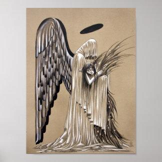 Ange noir póster