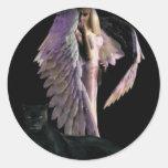 angel004 pegatinas redondas