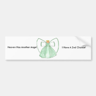 angel1 car bumper sticker