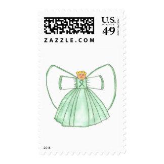 angel1 postage stamp
