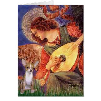 Angel3-Chihuahua1 Greeting Card