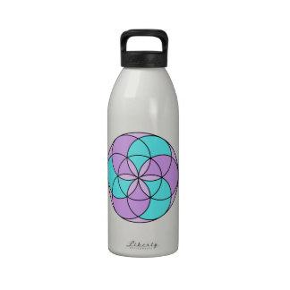 ángel 0 botella de agua reutilizable