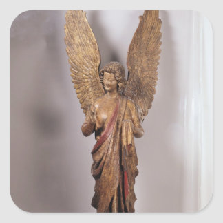 Angel, 1260-70, from the Church of Saudemont Square Sticker