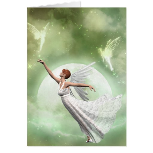 Angel 1 - Among Friends Greeting Card