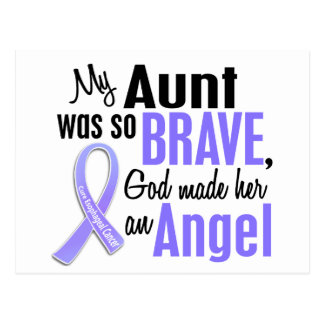 Angel 1 Aunt Esophageal Cancer Postcard