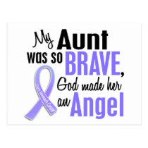 Angel 1 Aunt Stomach Cancer Postcard