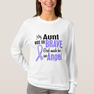 Angel 1 Aunt Stomach Cancer T-Shirt