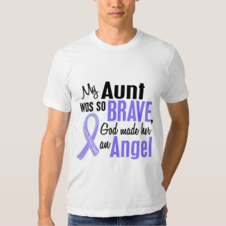 Angel 1 Aunt Stomach Cancer T Shirt