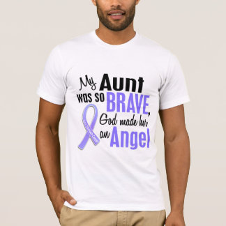 Angel 1 Aunt Stomach Cancer T-Shirt