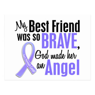 Angel 1 Best Friend (Female) Stomach Cancer Postcard