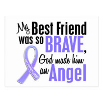 Angel 1 Best Friend Stomach Cancer Postcard