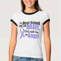 Angel 1 Best Friend Stomach Cancer T-Shirt