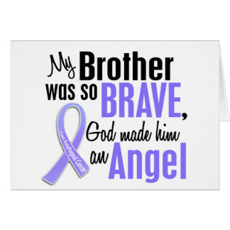 Angel 1 Brother Esophageal Cancer Greeting Card