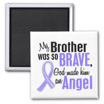 Angel 1 Brother Esophageal Cancer Magnet
