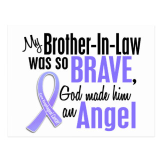 Angel 1 Brother-In-Law Esophageal Cancer Postcard