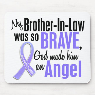 Angel 1 Brother-In-Law Stomach Cancer Mouse Pad