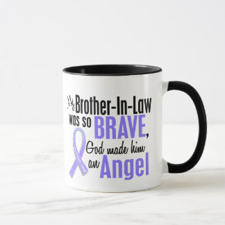 Angel 1 Brother-In-Law Stomach Cancer Mug