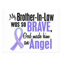 Angel 1 Brother-In-Law Stomach Cancer Postcard