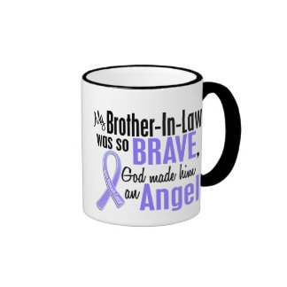Angel 1 Brother-In-Law Stomach Cancer Ringer Mug